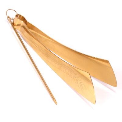 MYA prémium, arany színű széncsipesz