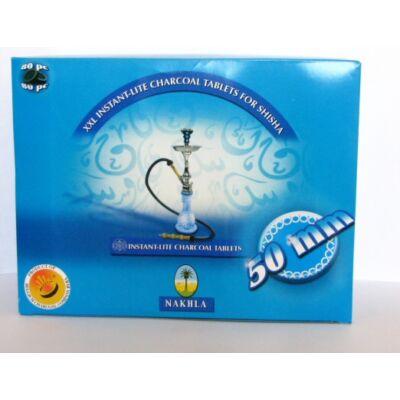Nakhla 50 mm, 80 db-os doboz öngyulladó szén