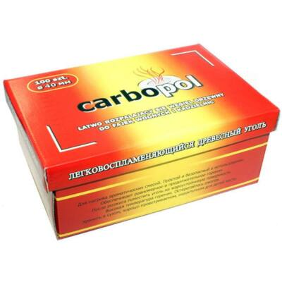 Carbopol 40 mm, 100 db-os doboz öngyulladó szén