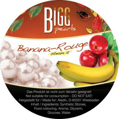 BIGG Pearls Banana Rouge (banán-vörösáfonya) vízipipa ásvány