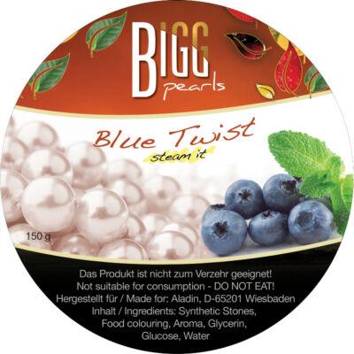 BIGG Pearls Blue Twist (áfonya-menta) vízipipa ásvány