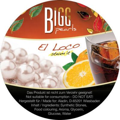 BIGG Pearls El Loco (narancs–kóla) vízipipa ásvány