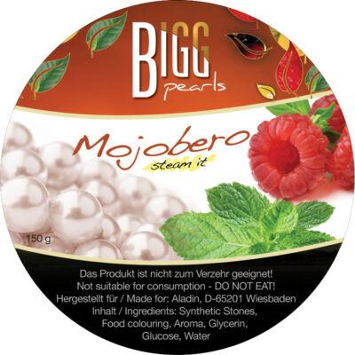 BIGG Pearls Mojobero (málna–menta) vízipipa ásvány