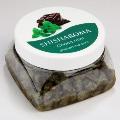 Shisharoma csoki-menta vízipipa ásvány