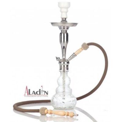 Aladin Loop 55 cm vízipipa — fehér