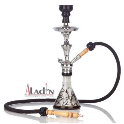 Aladin Tree 47 cm vízipipa — fekete