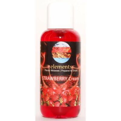 Elements strawberry cream dohány ízesítő