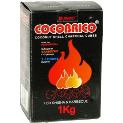 CocoBrico 1 kg kókusz természetes szén