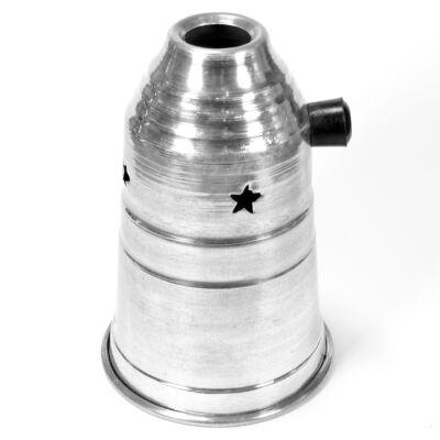 alumínium, 17 cm harang hőtartó sapka