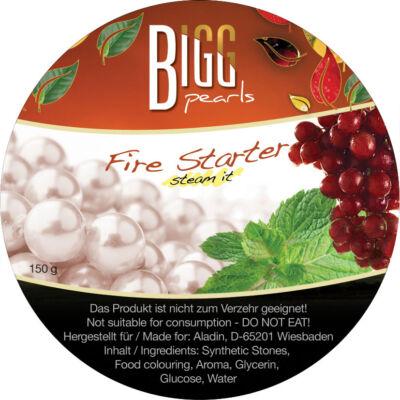 BIGG Pearls Fire Starter (szőlő–menta) vízipipa ásvány