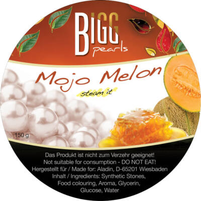 BIGG Pearls Mojo-Melon (sárgadinnye–méz) vízipipa ásvány