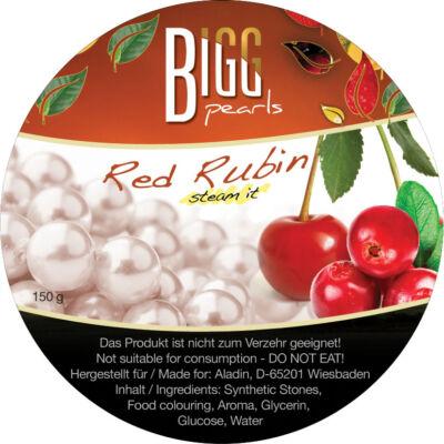 BIGG Pearls Red Rubin (cseresznye–vörösáfonya) vízipipa ásvány