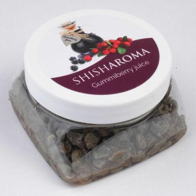 Shisharoma gumiberry juice vízipipa ásvány
