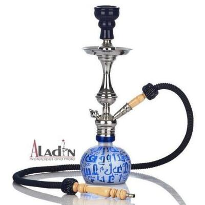 Aladin Koufy 43 cm vízipipa — kék
