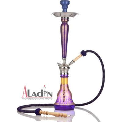 Aladin Nomád 75 cm vízipipa — lila