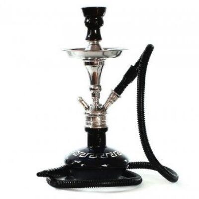 Aladin Tiny 36 cm vízipipa — fekete