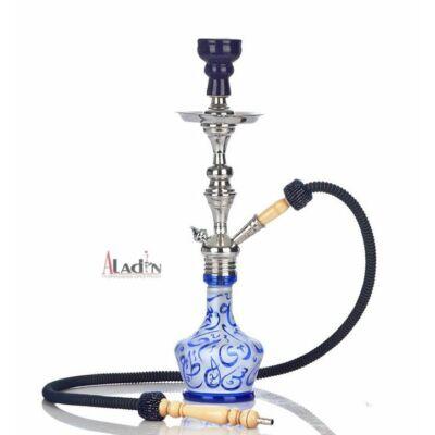 Aladin Arabica 51 cm vízipipa — kék