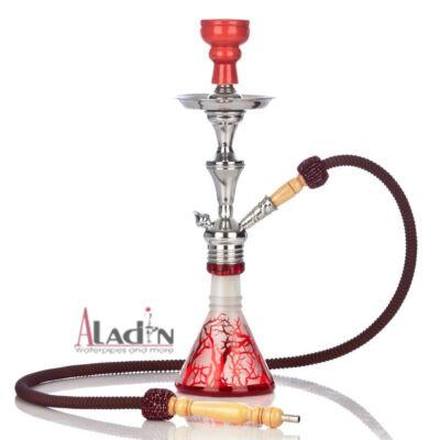 Aladin Tree 47 cm vízipipa — piros