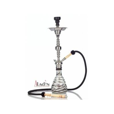 Aladin Zebra 75 cm vízipipa — fekete