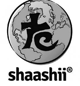 Shaashii logo Thai írásjellel